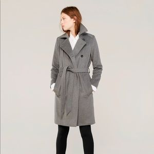 Everlane wool cashmere winter trench pea coat